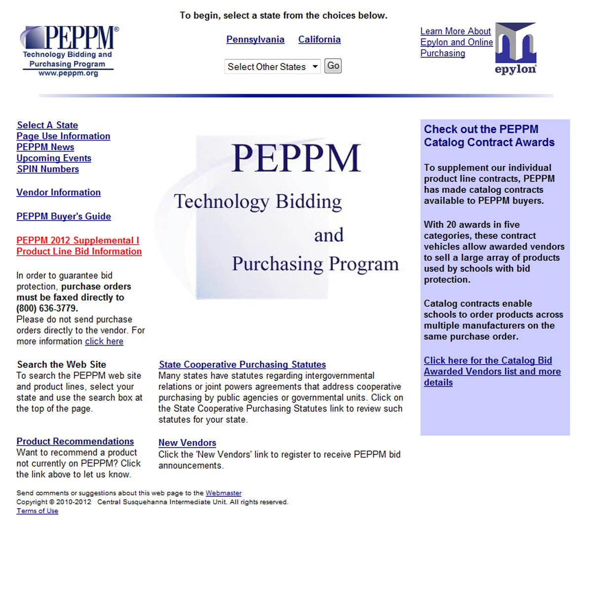 PEPPM Home Page